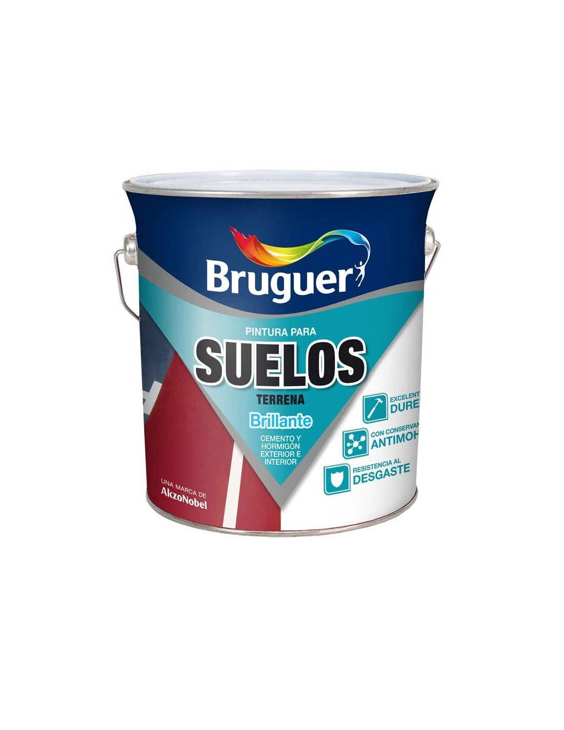 Bruguer pintura para suelos terrena pinturas m laga sol - Pintura para suelos exterior ...