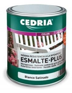 CEDRIA Esmalte Plus Blanco Satinado