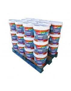 Dokapi Revestimiento Industrial Palet 33 bidones 14 litros