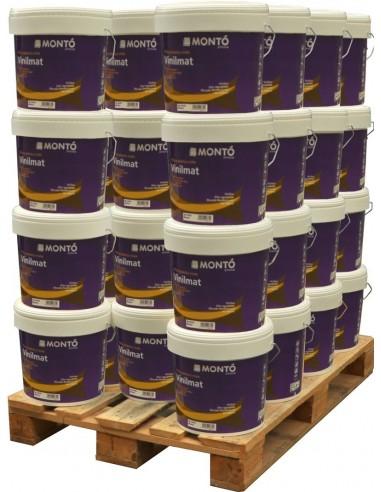 Montó Vinilmat SB Liso Multiadherente Palet 44 bidones 12 litros