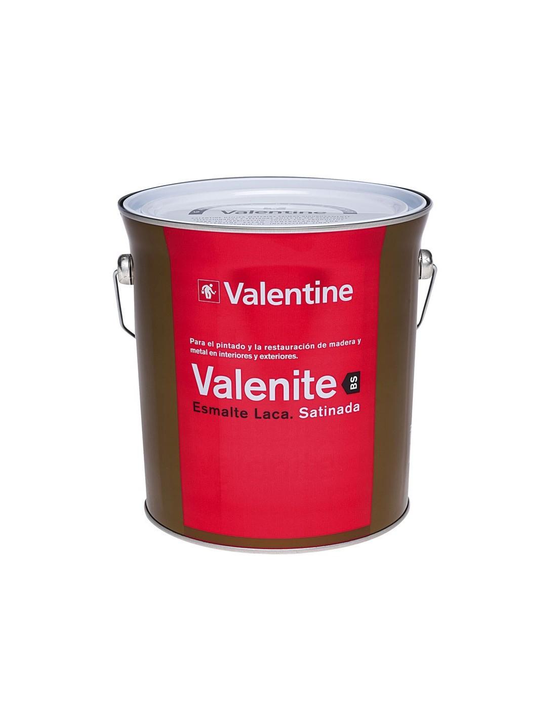 Valentine esmalte laca satinada pinturas m laga sol - Pintura satinada blanca ...
