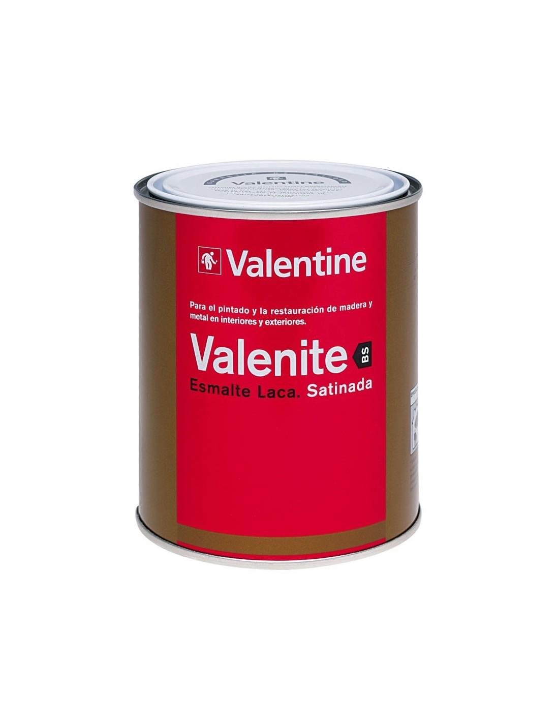 Valentine esmalte laca satinada blanco pinturas m laga sol - Pintura satinada blanca ...