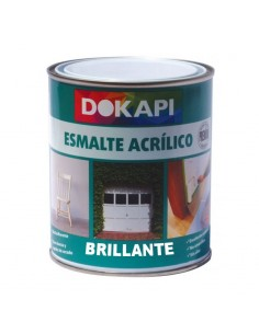 Dokapi Esmalte Acrílico Multiadherente Brillante Blanco 750ml