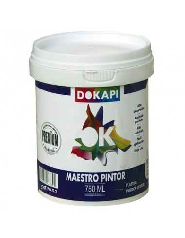 Dokapi Maestro Pintor Satinado 075L