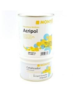 Montó Impripol Blanco + Catalizador