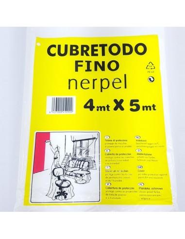 Nerpel Cubretodo Fino 4X5 M