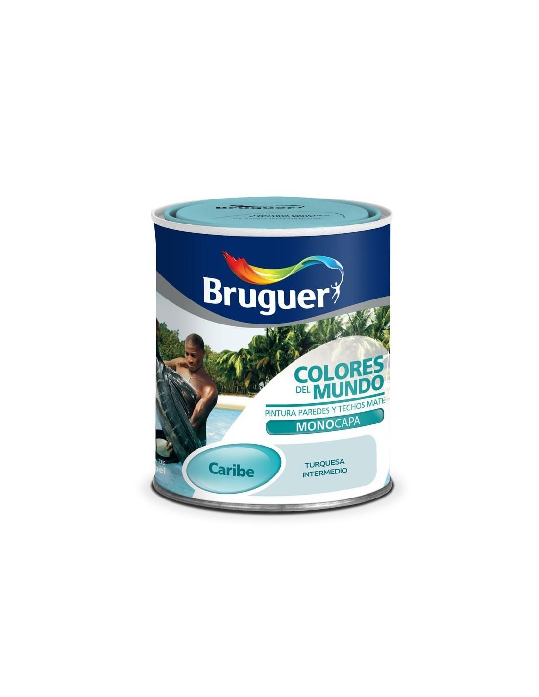 Bruguer colores del mundo caribe pinturas m laga sol - Bruguer colores del mundo ...