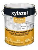 Pintura Balaustradas Blanco Blanco Mate Xylazel 4 L.