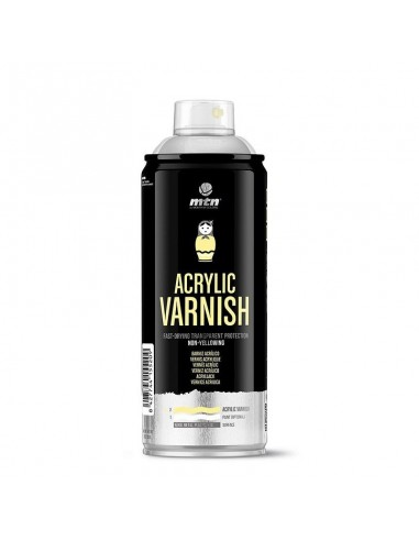 Montana Spray Barniz Acrílico MAte 400 ml