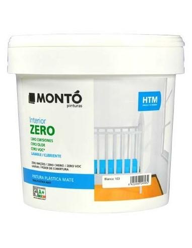 Montó Htm Interior Zero Blanco 12 L