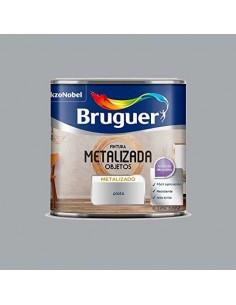 Bruguer Pintura Metalizada Objetos Plata 125 Ml.
