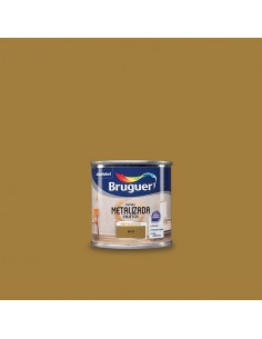 Bruguer Pintura Metalizada Objetos Oro 125 Ml.