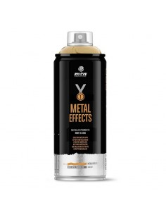 Montana Spray Pintura Efectos Metálico Oro Cromado 400 ml