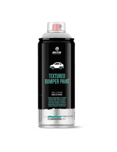 Montana Parachoques Negro Texturado 400 ml