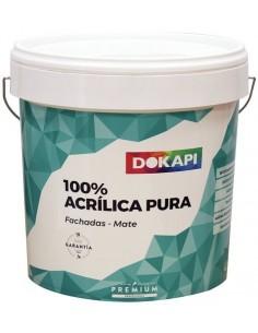 Dokapi Revestimiento Acrílica 100% 4L