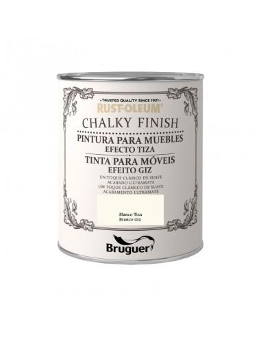Bruguer Rust-Oleum Pintura a la Tiza Finish Blanco Tiza