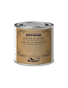 Bruguer Rust Oleum Cera Acabado Muebles Metalizada Oro